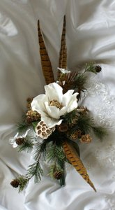Contemporary Woodland Wedding Bouquet