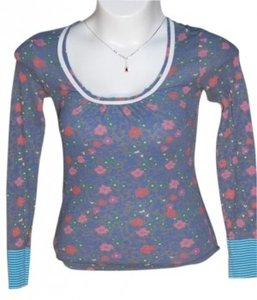 Scrapbook T Shirt Multi, pink, blue, green