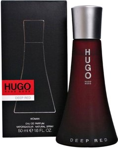 Hugo Boss DEEP RED by HUGO BOSS Eau de Parfum Spray for Women ~ 1.7 oz / 50 ml