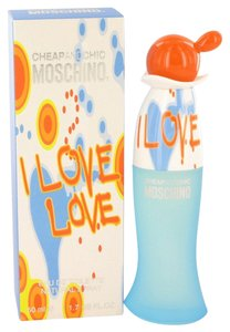 Moschino I LOVE LOVE CHEAP and CHIC by MOSCHINO EDT Spray ~ 1.7 oz / 50 ml