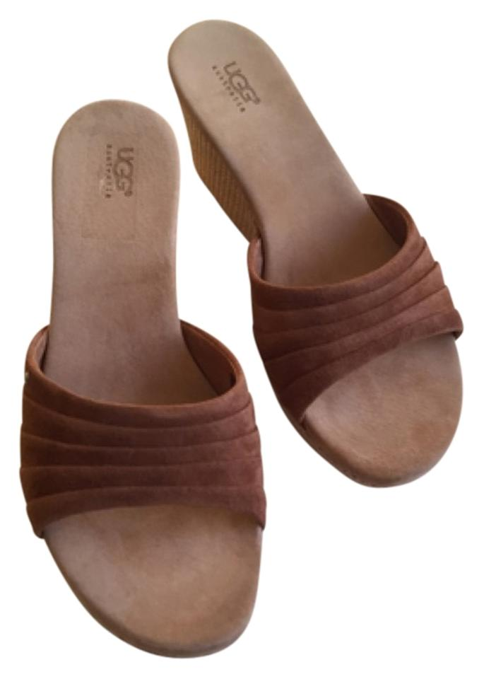 ugg australia ugg tan sandals on sale 37 off sandals on sale. Black Bedroom Furniture Sets. Home Design Ideas
