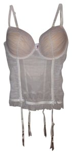 Betsey Johnson Betsy Wedding Corset Top Ivory