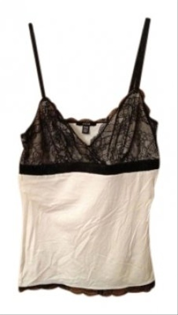 JACOB & Top White with Black Lace