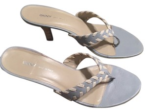 DKNY Light blue and white Sandals