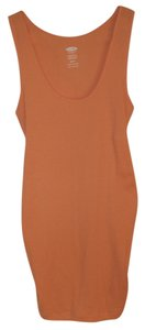 Old Navy Nwt Women's Maternity Cotton Blend Orange Size XS New Tank Top