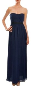 BCBGMAXAZRIA Chiffon Strapless Gown Dress