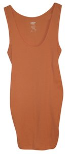 Old Navy NEW Women's Maternity Cotton Blend Orange Size Small New Tank Top