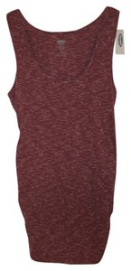 Old Navy NWT Women's Maternity Cotton Blend Purple Size Small New Tank Top