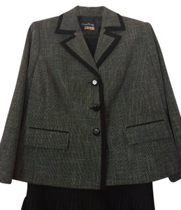 Evan Picone Wool Skirt Suit
