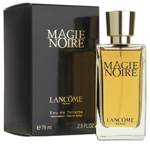 MAGIE NOIRE by LANCOME Eau de Toilette Spray ~ 2.5 oz / 75 ml