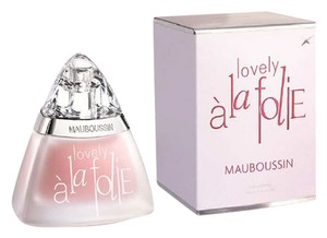 Mauboussin A LA FOLIE LOVELY by MAUBOUSSIN EDP Spray ~ 3.4 oz / 100 ml