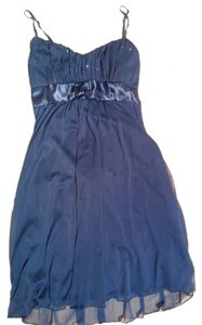 Ruby Rox short dress Dark Blue on Tradesy