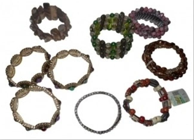 Multicolor Stretch Lot Bracelet Multicolor Stretch Lot Bracelet Image 1