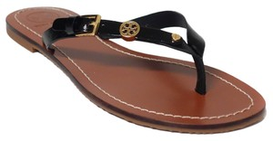 Tory Burch Thong Flat Thong Flat Thong Black Sandals