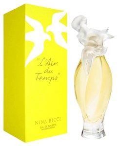 Nina Ricci L'AIR DU TEMPS by NINA RICCI EDT Spray ~ 1.7 oz / 50 ml (w/ BIRD CAP)
