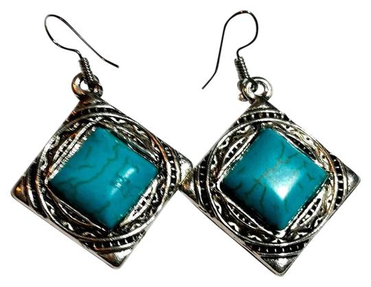 Preload https://item4.tradesy.com/images/silver-turquoise-new-tone-gemstone-j3422-earrings-1148743-0-2.jpg?width=440&height=440