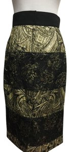 Dolce&Gabbana Dolce & Gabbana Cocktail Skirt Black/Gold