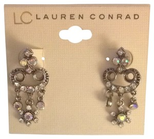 LC Lauren Conrad Rhinestone Earrings