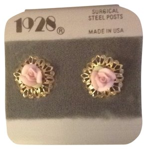 1928 Rose Earrings