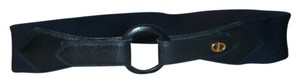 Dior Christian Dior Navy Blue Logo Belt 729R with Leather Trim NWOT's