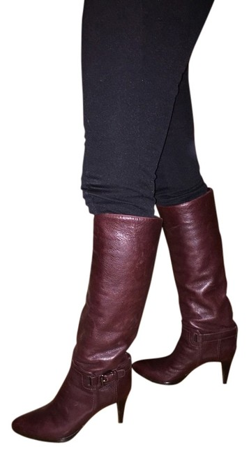 Sergio Rossi Brown Med Heel Leather Boots/Booties Size US 8.5 Regular (M, B) Sergio Rossi Brown Med Heel Leather Boots/Booties Size US 8.5 Regular (M, B) Image 1