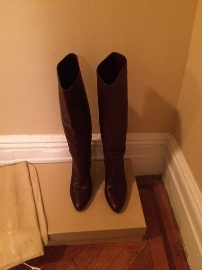 Sergio Rossi Some Wear Brown Boots