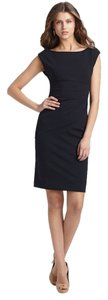 Diane von Furstenberg short dress Navy Dvf on Tradesy
