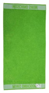 Moschino MOSCHINO Designer Beach Pool Towel Neon Green 33