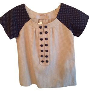 Young Essence Top Khaki And Navy
