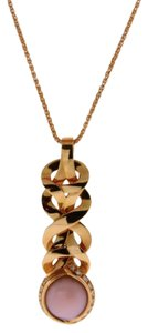 Versace Gianni Versace Ladies Diamond Necklace In 18k Rose Gold