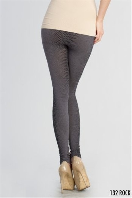Nikibiki Snakeskin Gray Rock Leggings