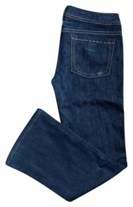 1921 Jeans Boot Cut Jeans-Dark Rinse
