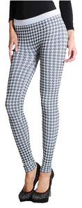 Nikibiki Houndstooth White Leggings
