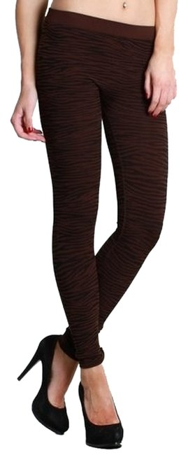 Nikibiki Zebra Dark Brown Leggings
