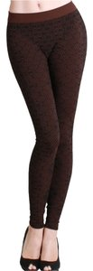 Nikibiki Beehive Dark Brown Leggings
