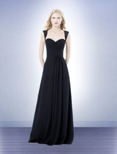 Bill Levkoff Navy 485 Dress