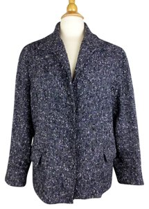 Lafayette 148 New York Black, Purple Blazer