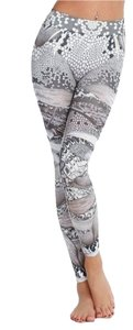 Nikibiki Butterfly Print Gray Leggings