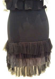 Free People Mini Skirt Black, grey
