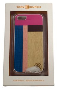 Tory Burch Tory Burch Color Cube Wooden Case for iPhone 5/5S