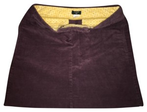 J.Crew Mini Skirt Brown