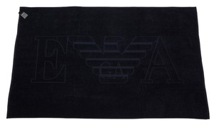 Emporio Armani Designer Extra Large Navy Beach Pool Towel 39