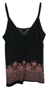 New York & Company Top Black/Multi