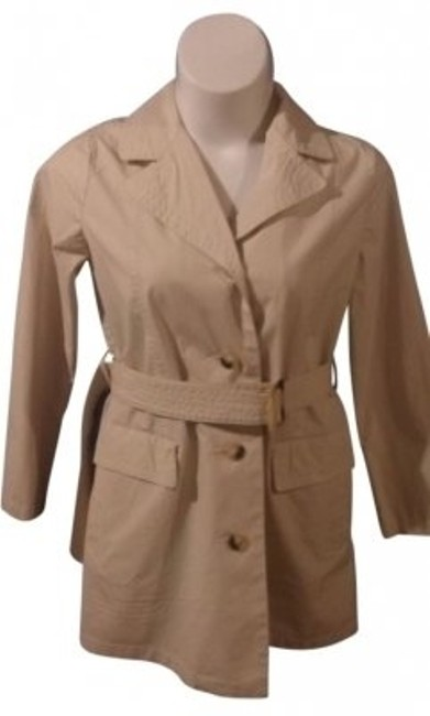 Item - Cream Trench From Maternity Outerwear Size 10 (M, 30)