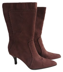 George Suede Midcalf Size 8 Brown Boots