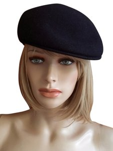 ezzio 100% wool cabbie hat