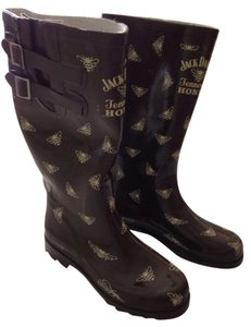 Brown Rain Boots Boots