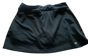 New Balance Black tennis skort
