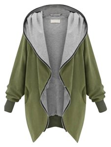 Qian mei Military green Jacket