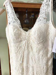 BHLDN Nicole Miller Chantilly Lace Wedding Dress Wedding Dress